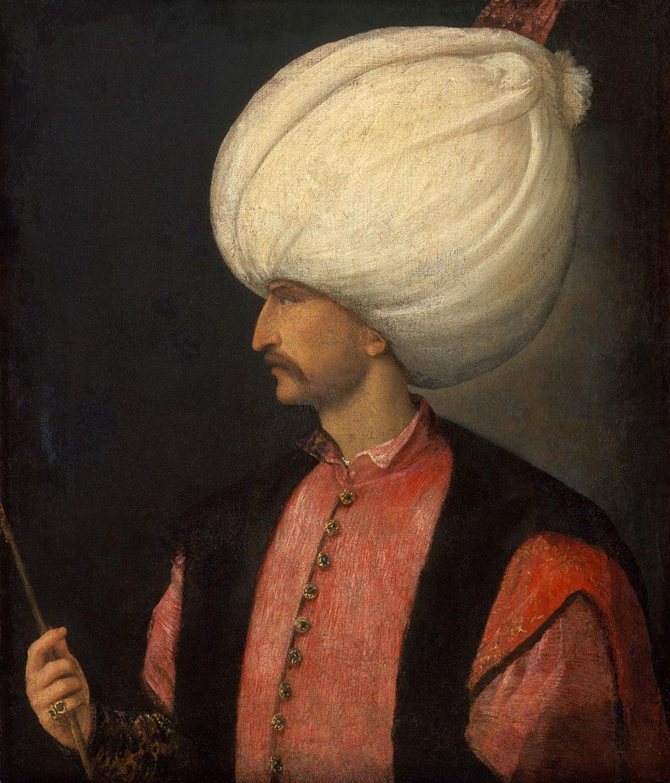 Venetian Artist, Sultan Suleiman II, The Sultan's World