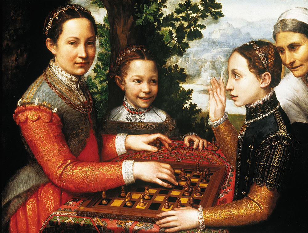 Sofonisba Anguissola, The Chess Game, The Sultan's World