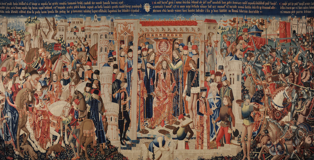 Tarquino Prisco tapestry, Zamora Cathedral, day 9