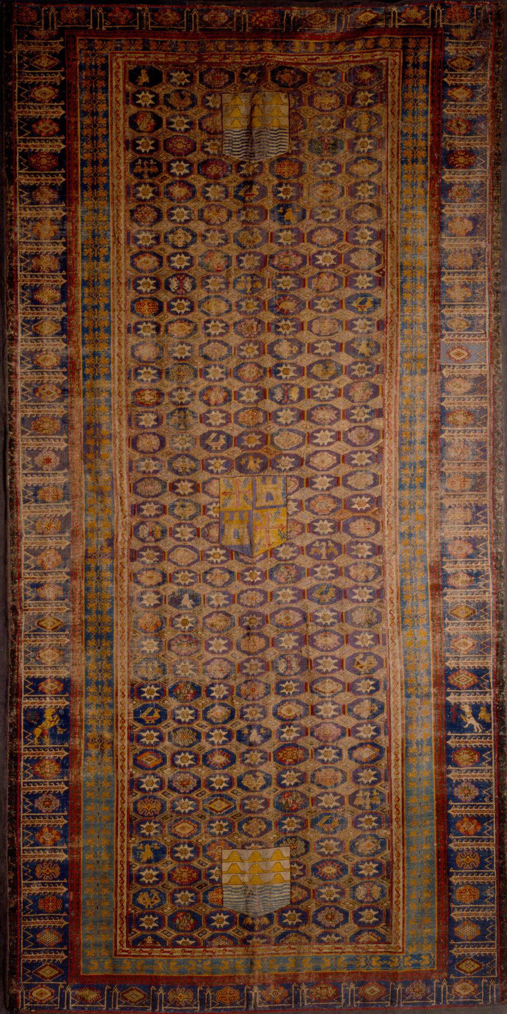 Spanish 'Admiral' carpet, Instituto Valencia de Don Juan, Madrid, day 7