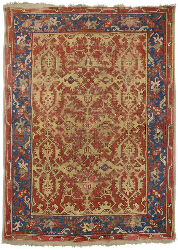 Ushak Lotto carpet, Nagel