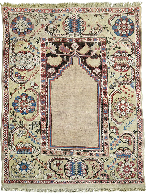 Transylvanian prayer rug, Nagel
