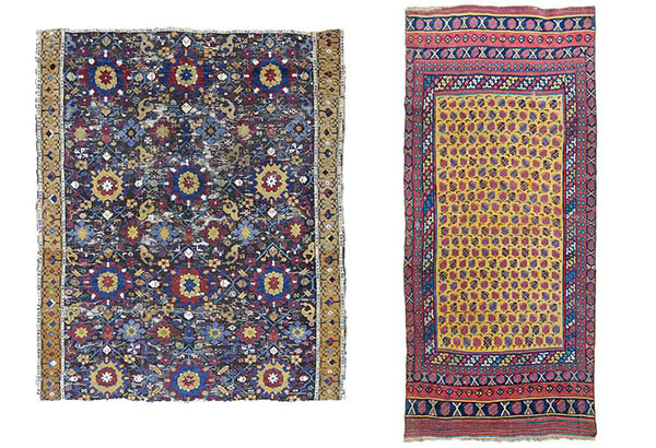 Kurdish carpet, Nagel auction