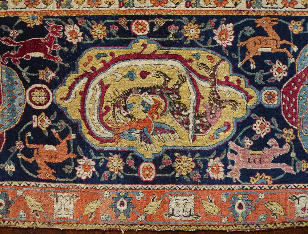 The Buccleuch Sanguszko Carpet