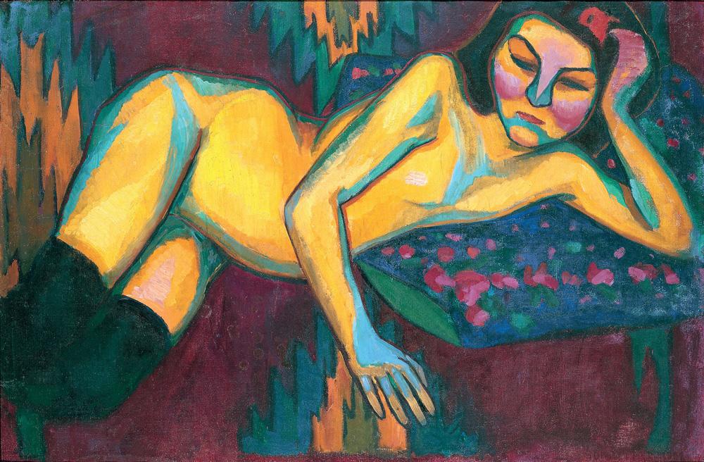 Yellow-Nude-1908