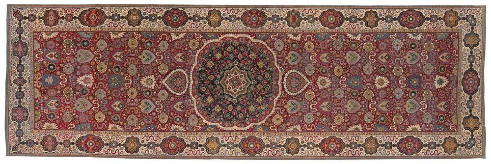 India–Spain, Trinitarias carpet, National Gallery of Victoria, Melbourne