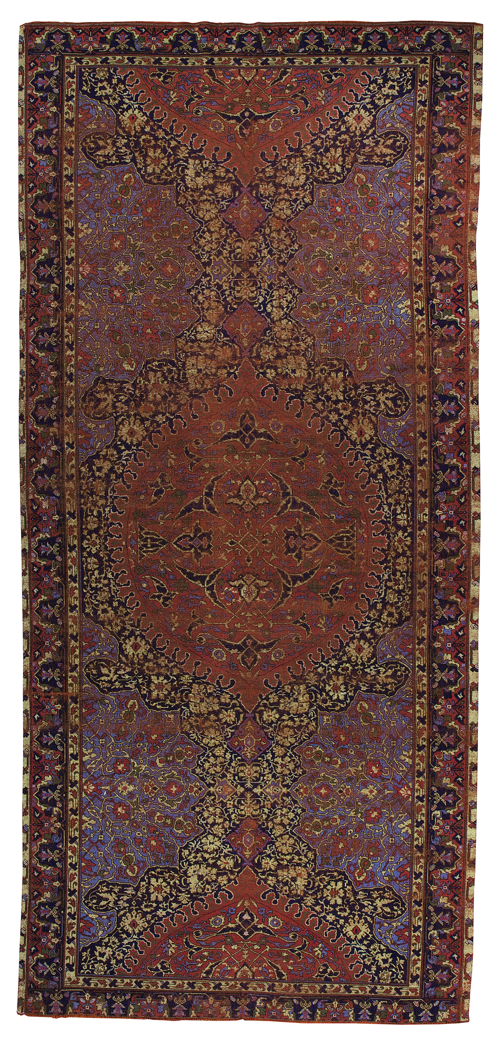 An unusually small Oushak Medallion carpet, West Anatolia, Sotheby's
