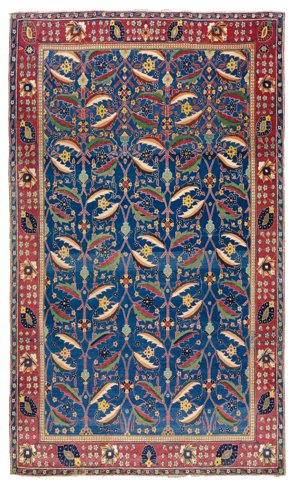 "Kerman 'vase' carpet, southeast Persia, late 17th century. 1.51 x 2.51m (5'0"" x 8'3""). £1,000,000-1,500,000"