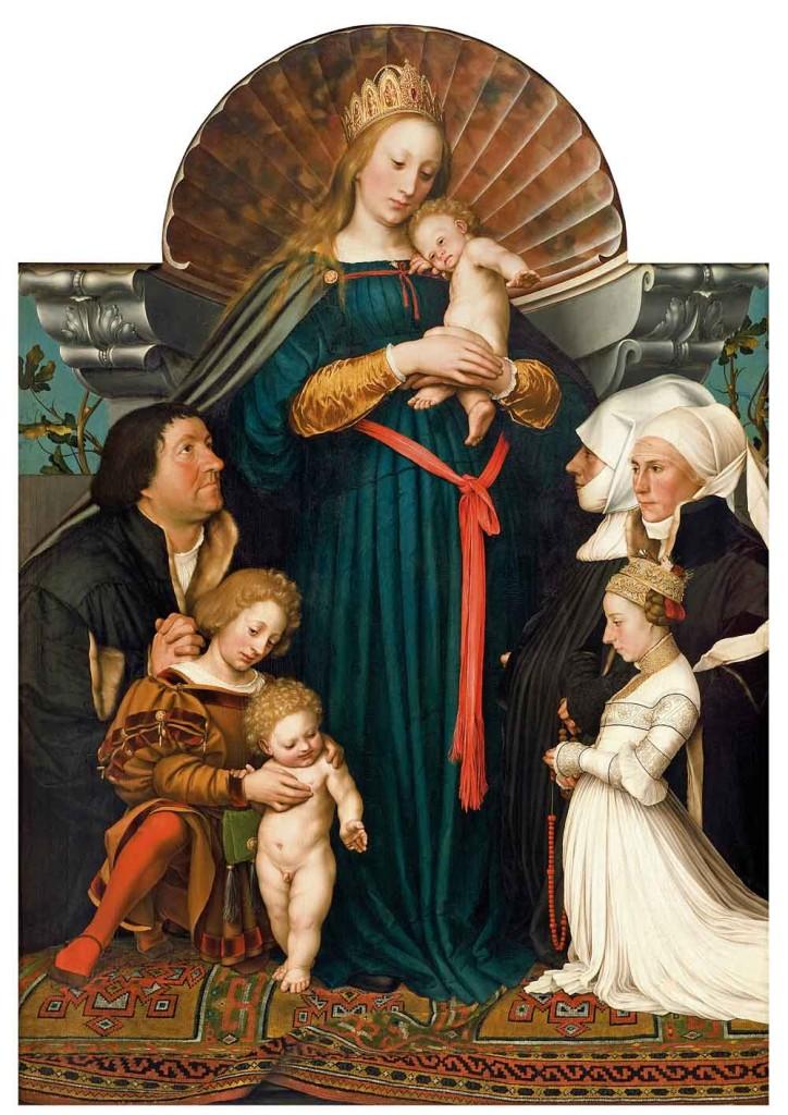 BM_Holbein_Holbein_d_J_Die_Madonna_des_Buergermeisters_Jakob_Meyer_zum_Hasen
