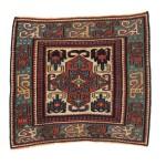 Shahsavan sumak bagface, northwest Persia, early 19th century. Excellent condition, wool warp, silk weft. Lot 14, Austria Auction Company, Vienna 30 April, estimate: € 12.000 – 14.000.