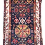 West Persian Kurdish long rug, end 19th century.Wool warp, wool weft, wool pile. Lot 32, Austria Auction Company, Vienna, 30 April, estimate € 4.000 – 6.000
