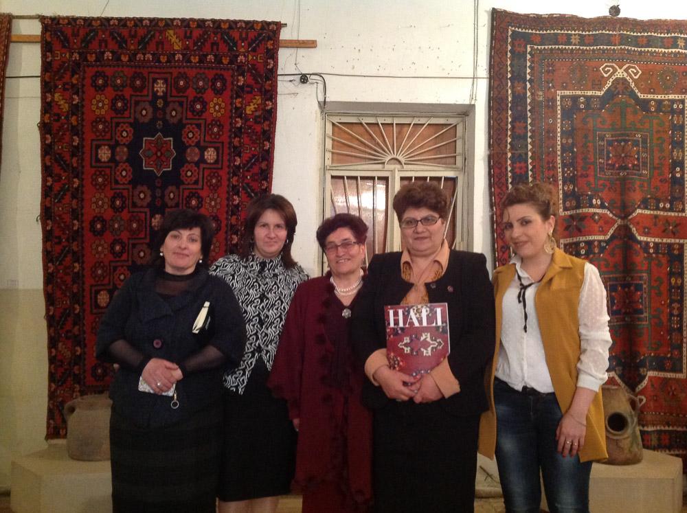 Staff and Director, Museum of Ethnography & Carpets, Gavar, Armenia