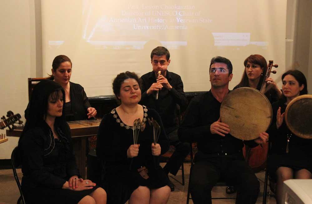 Armenian Traditional Music Ensemble performance at Hovannes Sharambeyan Museum of Folk Arts, Yerevan