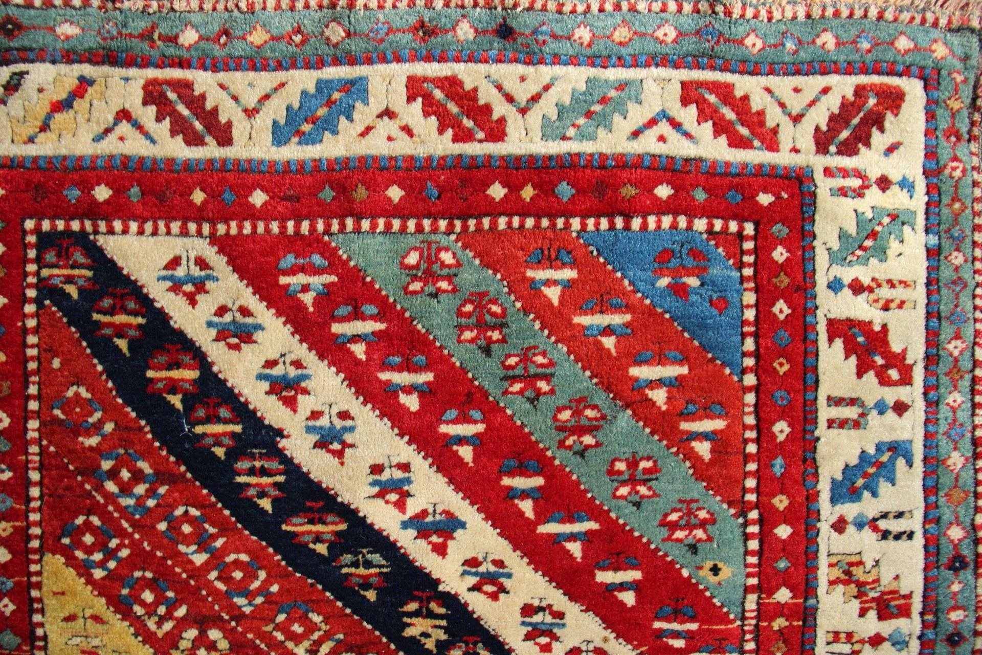 Kazak region long rug, west Caucasus, 19th century. James Cohen, London