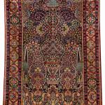 Lot 7075 Tehran millefleur rug, circa 1900 . Henrys Auktionshaus, 11 June, estimate €3,000.