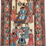 Lot 7232 Kirman Ravar ordered by Mohammad Reza Khan Pahlavi_circa 1910. Henrys Auktionshaus, 11 June, estimate €3,000.