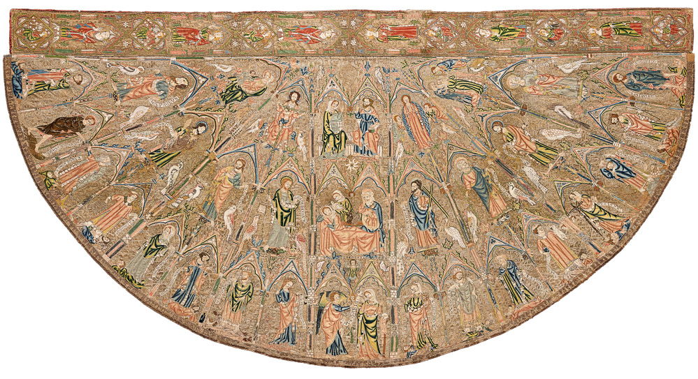 The Toledo Cope, England, circa 1320-30. Cabildo Catedral Primada, Toledo