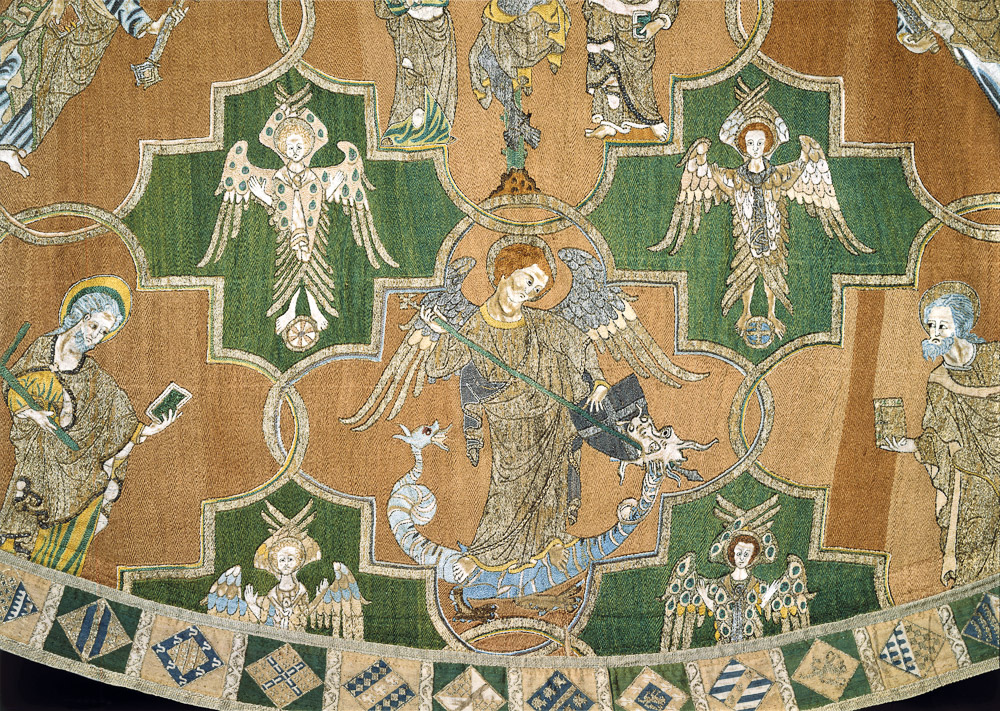 The Syon Cope (detail), England, circa 1300-20. Victoria and Albert Museum, London, 83-1864