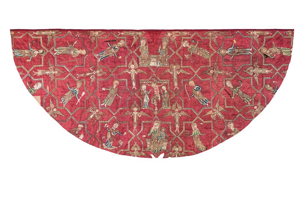 The Vatican Cope, England, circa 1280-1300. Musei Vaticani
