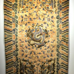 Chinese silk rug with metal thread, 19th century, Robert Mosby