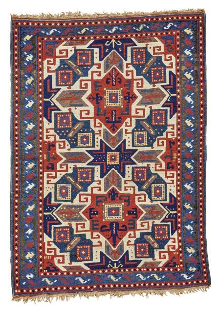 star-kazak-rug-southwest-caucasus-second-half-19th-century