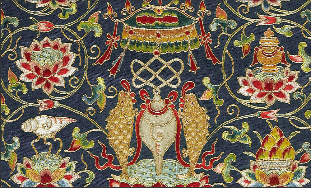 Ming embroidery