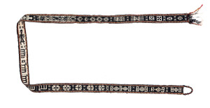 Lori kilim band, Persia, ca. 1900,10ft. 4in. x 0ft. 3in. Lot 380, Austrian Auction Company, 19th November, estimate: € 400 – 600. Tucked at the back of the sale are three woven bands made by west Persian nomads for use in packing and carrying loads. In a new study of these tribal totems by Fred Mushkat to be published in 2017, the authenticity and strong tribal identity that resonated through these objects is in revealed in great detail. For many years these weavings have been overlooked but the best examples deserve greater attention. This example may not be the finest of the three examples on offer but it does have the rare addition of animals and people.