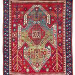 Sevan Kazak, South West Caucasus, mid 19th century. Rippon Boswell, Wiesbaden, 3 December, lot 41, The Wollheim Collection, 215 x 171 cm, estimate €9,000.00