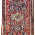 Kuba sumakh, East Caucasus, second half 19th century. Rippon Boswell, Wiesbaden, 3 December, lot 34, The Wollheim Collection, 328 x 230 cm, estimate €1,000.00