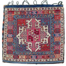 Shahsavan Bag Face, North West Persia, Azerbaijan, first half 19th century. Rippon Boswell, Wiesbaden, 3 December, lot 161, 57 x 59 cm estimate €6,500.00