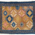 Ningxia Seat Cover, West China, first quarter 18th century. Rippon Boswell, Wiesbaden, 3 December, lot 122, 74 x 65 cm, estimate €3,000.00