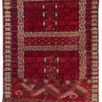 Tekke Ensi, Central Asia, West Turkestan, mid-19th century. Rippon Boswell, Wiesbaden, 3 December, lot 122, 160 x 113 cm, estimate €8,500.00