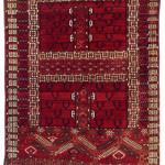 Tekke Ensi, Central Asia, West Turkestan, mid-19th century. Rippon Boswell, Wiesbaden, 3 December, lot 122, 160 x 113 cm, estimate €8,500.00