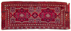 Salor jollar, Central Asia, West Turkestan, pre 1800. Rippon Boswell, Wiesbaden, 3 December, lot 160, 58 x 143 cm estimate €23,000