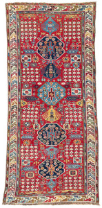 Moghan, South East Caucasus, Azerbaijan, first half 19th century. Rippon Boswell, Wiesbaden, 3 December, lot 155, 288 x 135 cm, estimate €6,500.00
