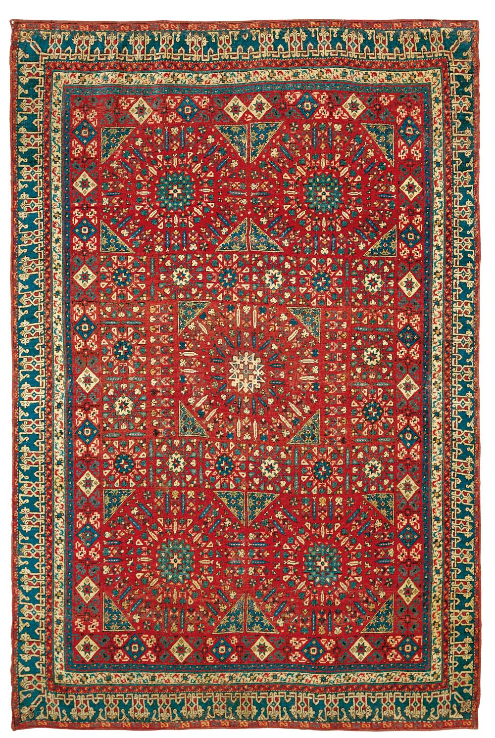 Classical Carpets And Renaissance Paintings In Venice Hali