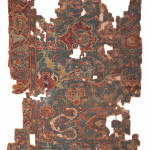 Lot 397, Ushak carpet fragment, central Anatolia, 18th century, 245x152cm. Wannenes, 25 May, Opencare, Milan, Estimate€ 3,000 - 6,000