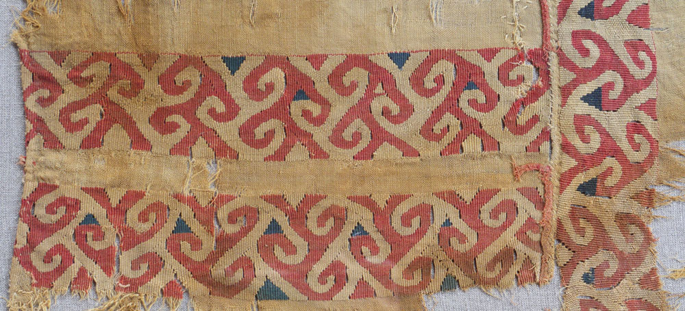 Central Asian textile fragment