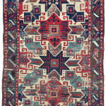 A White Ground 'Star' Kazak Rug