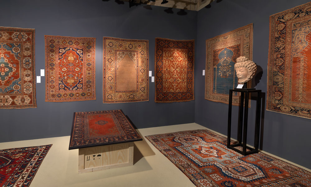 Exhibition Stand Carpet : Carpets and textiles at the florence biennale hali