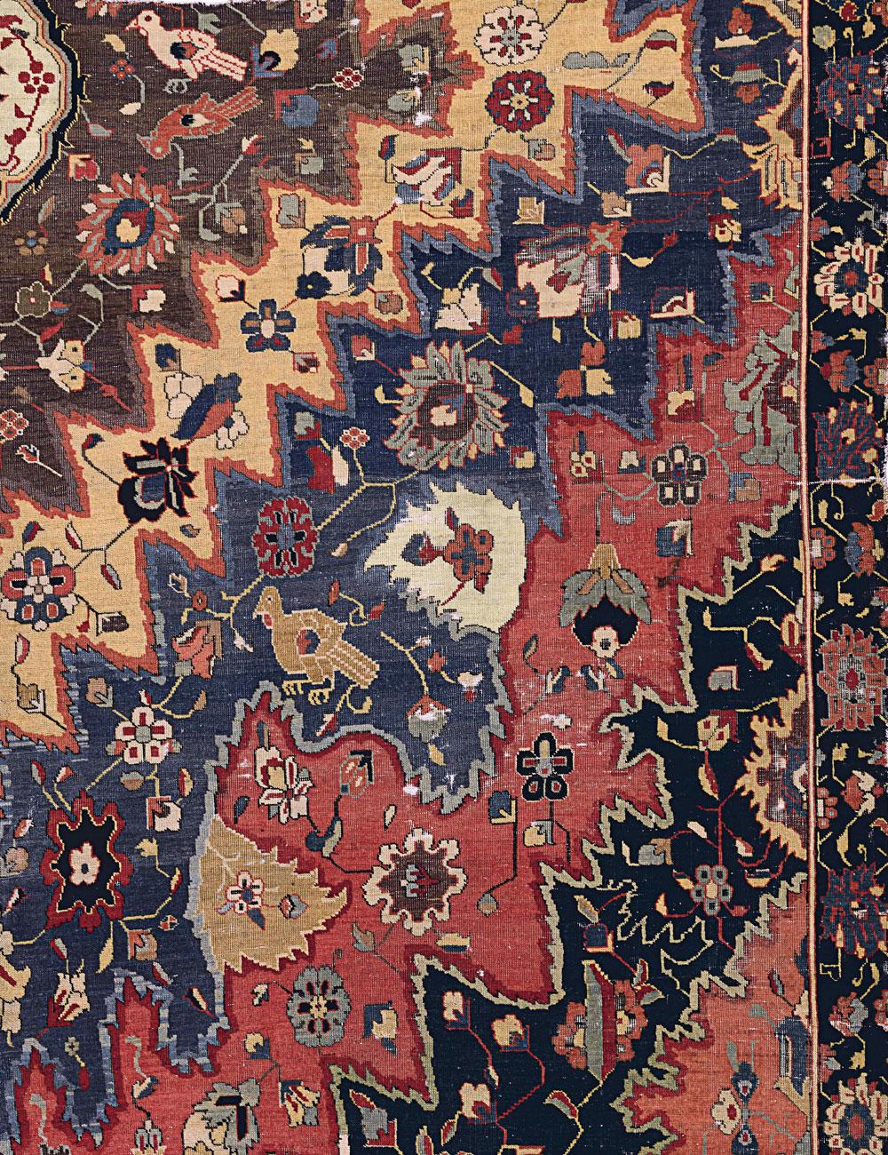 'Portuguese' carpet fragment