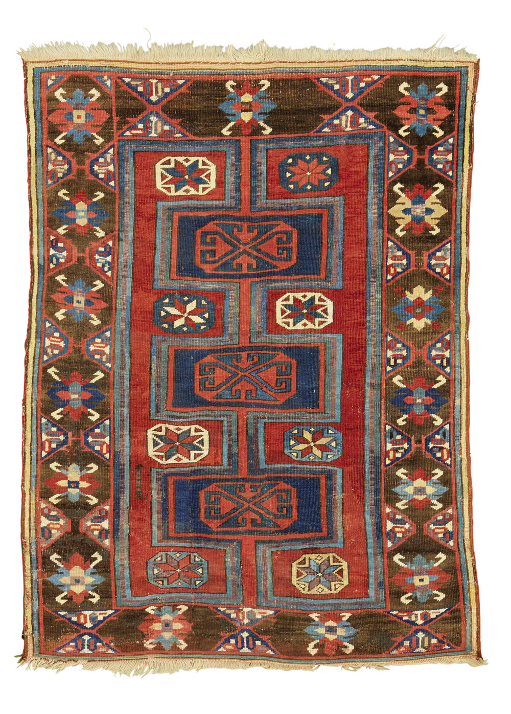 Lot 85, Karapinar rug, estimated at £2,800-4,000, sold at £31,250 ($41,090)
