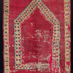 Ottoman niche kilim