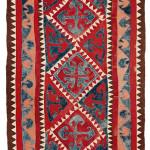 Kirghiz felt rug
