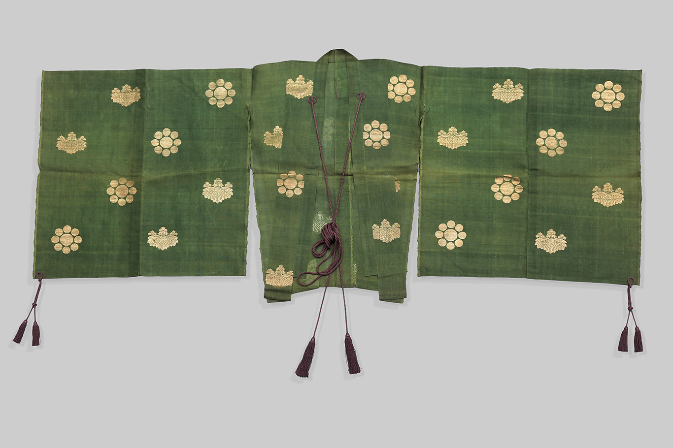 Japanese Hitatare-style Robe for Kemari, 18th century, mid-Edo period (1615-1868)