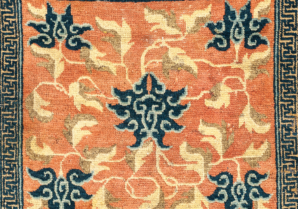 A Ningxia meditation mat, circa 1800