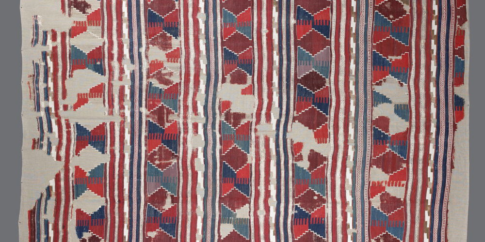 "West Anatolian kilim, before 1800. 1.97 x 2.70 m (6' 6"" x 8' 10"")"