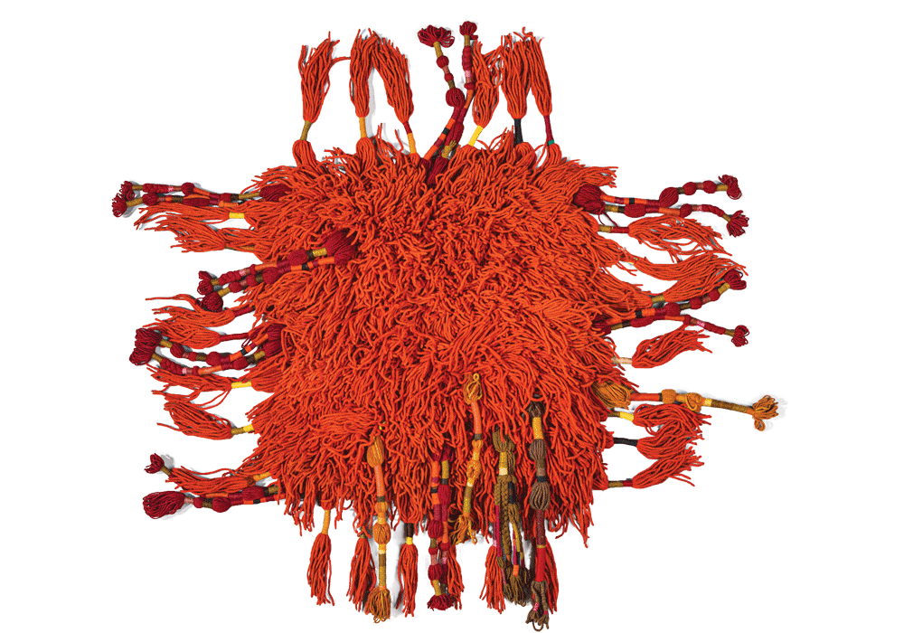 Rug, Sheila Hicks (produced by V'SOSKE), circa 1965. Art Institute of Chicago, Gift of Sheila Hicks