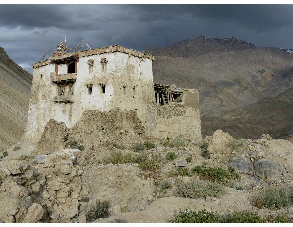 The old palace at Zangla, Zanskar