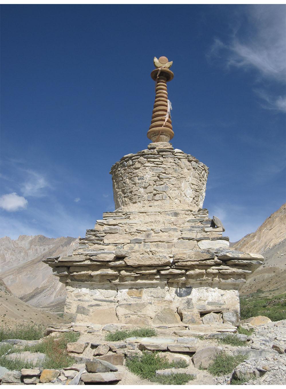 Chörten, Ladakh